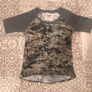nation ltd camo tee